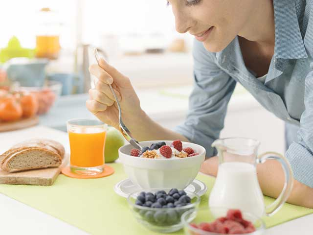 ヘルシーな朝食