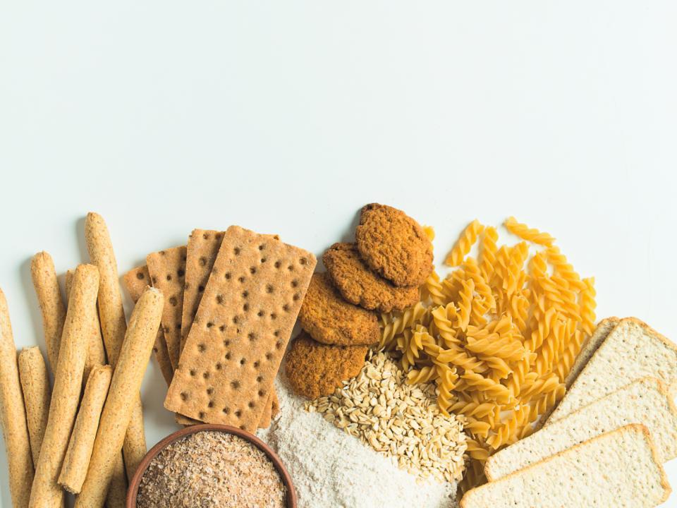 小麦の食品