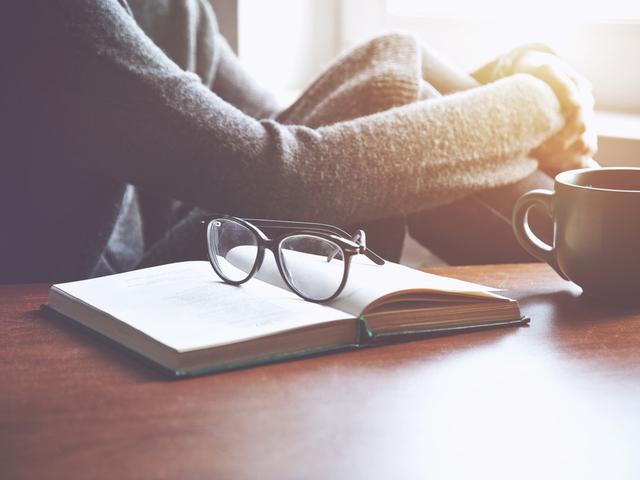 ノートと眼鏡
