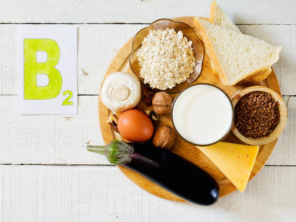 ビタミンB2が豊富な食材