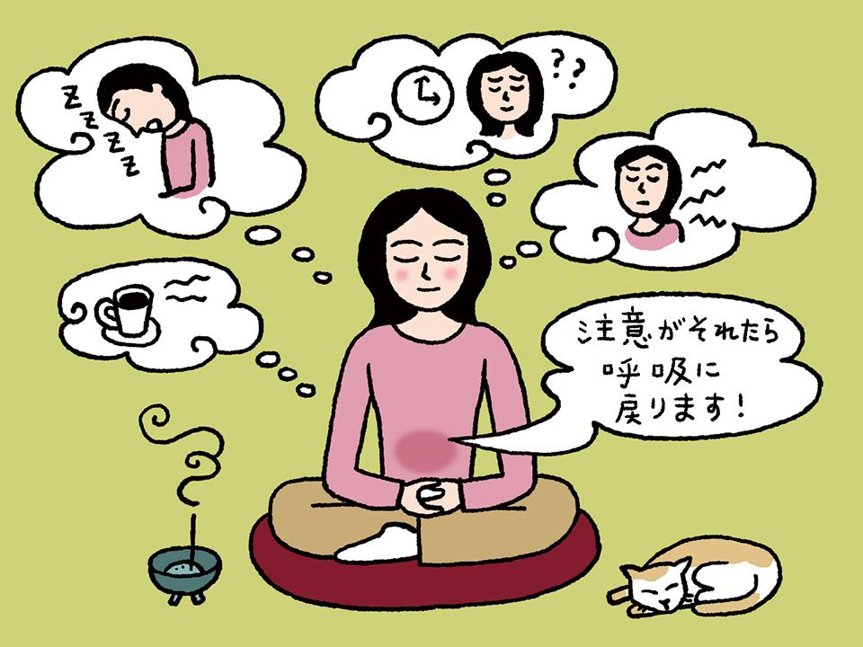 瞑想と雑念
