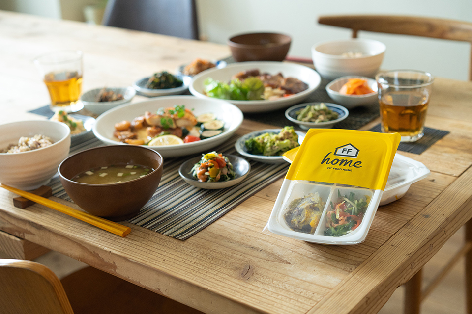 FIT FOOD HOMEのおかずプレート