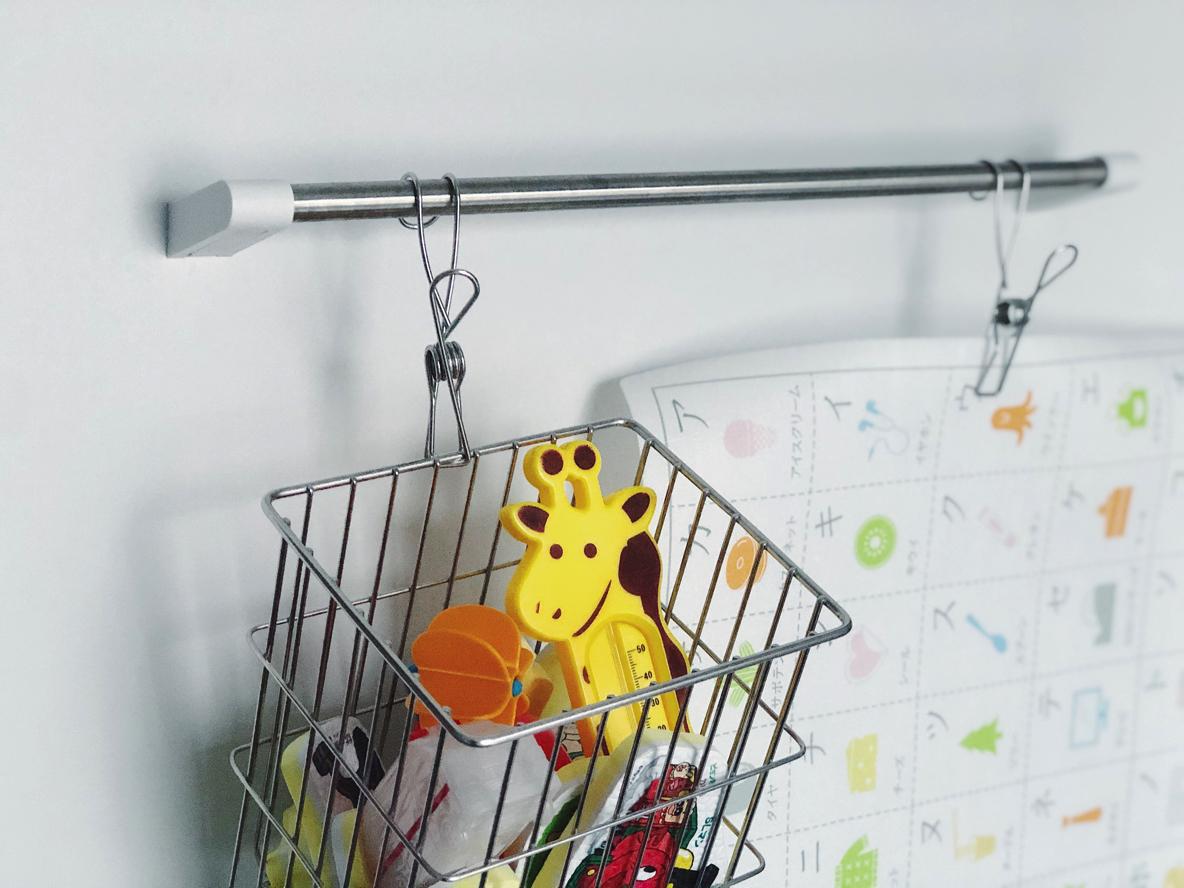 お風呂で使う子どものおもちゃ収納