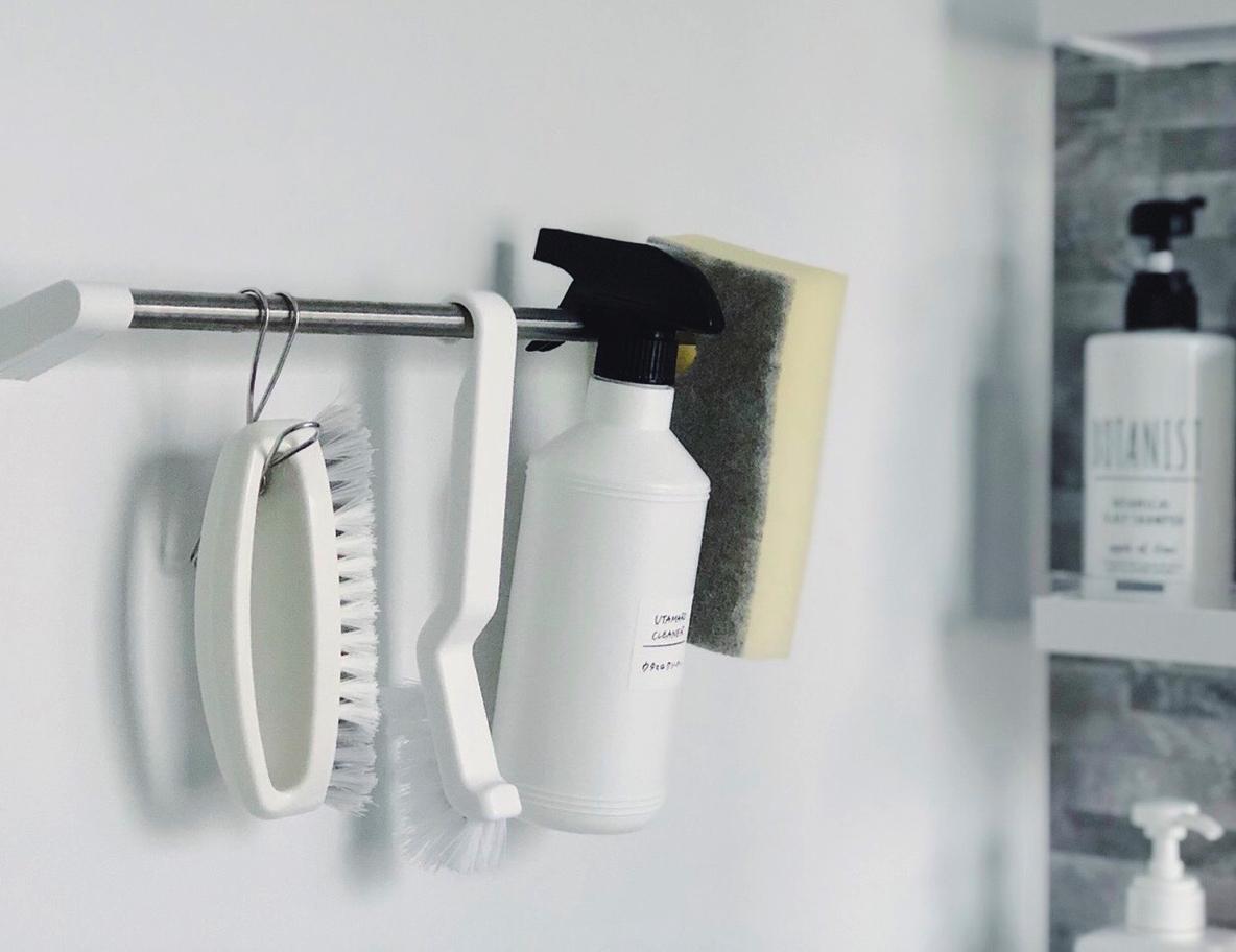 お風呂グッズの収納方法