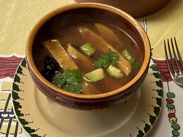 トルティージャスープ