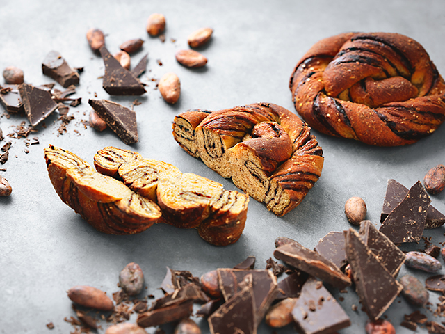 新作ベースブレッドチョコレート味