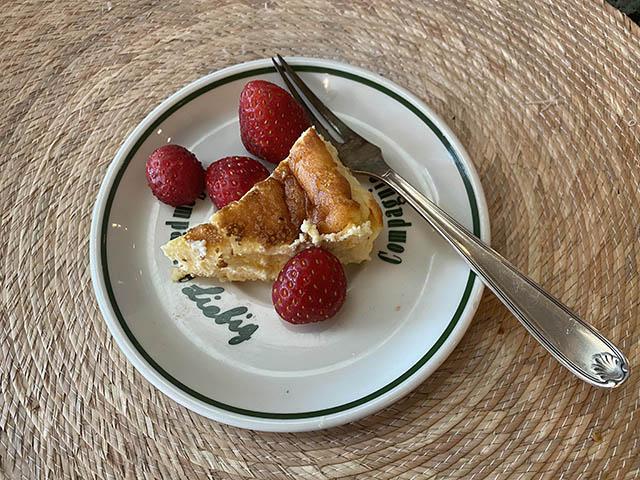 いちごとチーズケーキ