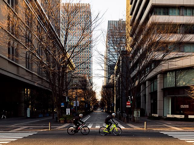 自転車で都内を走る