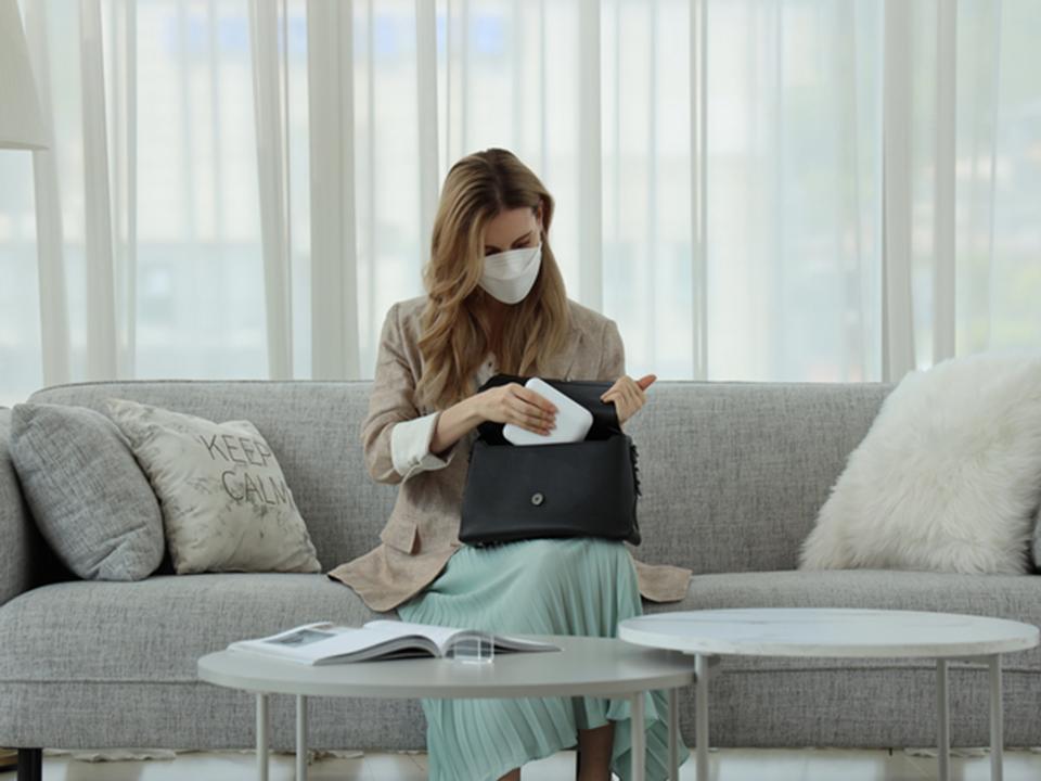 医療機器メーカーMEDIKが開発した、マスク除菌ケース