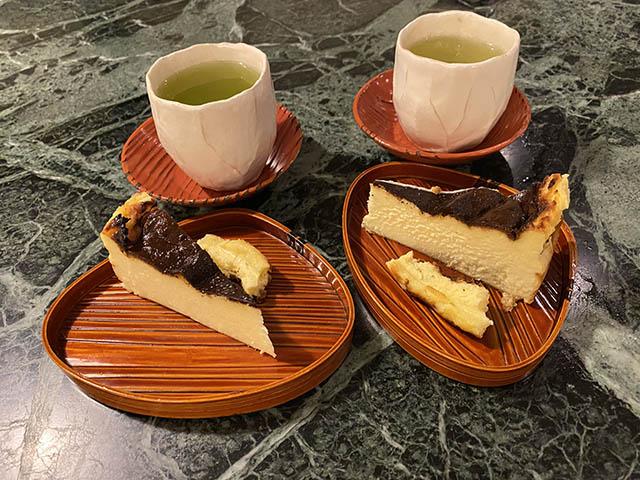 ケーキ・お茶