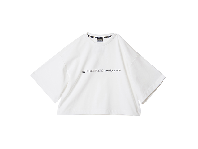 INCOMPLETEワイドスリーブTシャツ