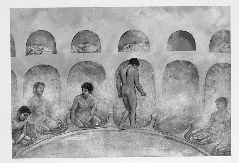 ギリシャの共同浴場