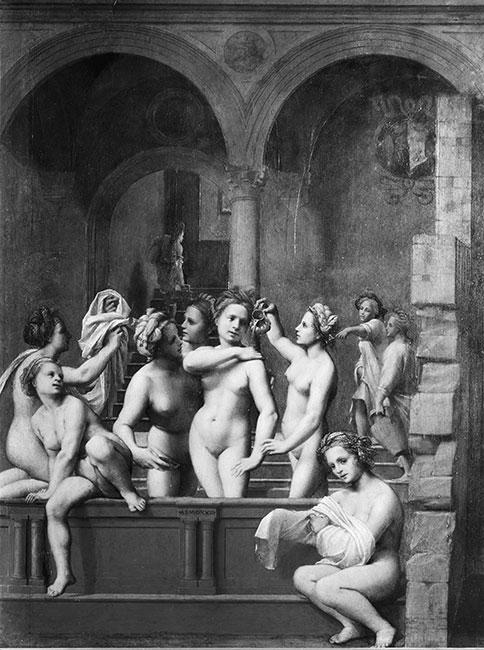 「ミクヴェ」という入浴儀式をおこなう女性たちを描いた16世紀の絵画