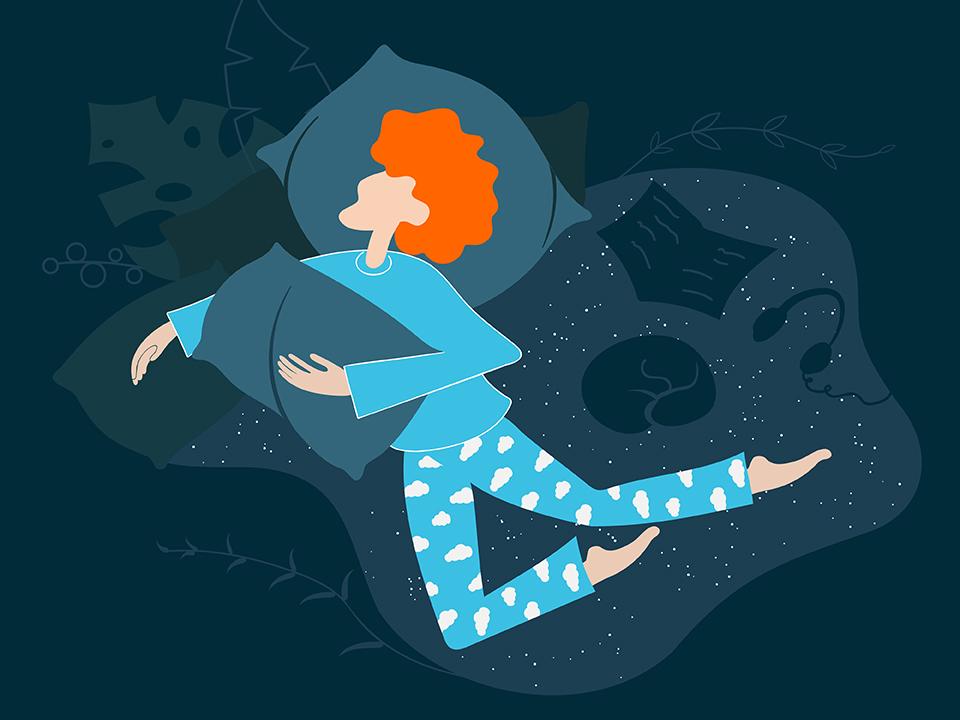 パジャマを着て寝る人