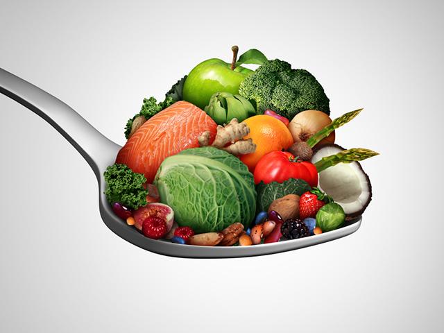 栄養を摂取する