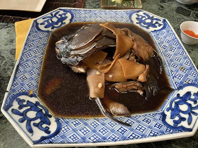 05石鯛の煮付け