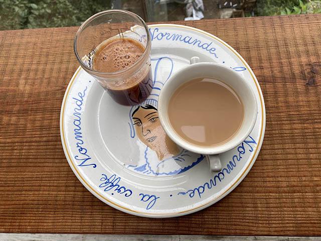 ジュースと紅茶