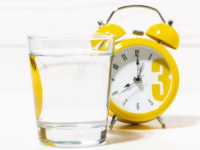 サプリメントを飲む時間