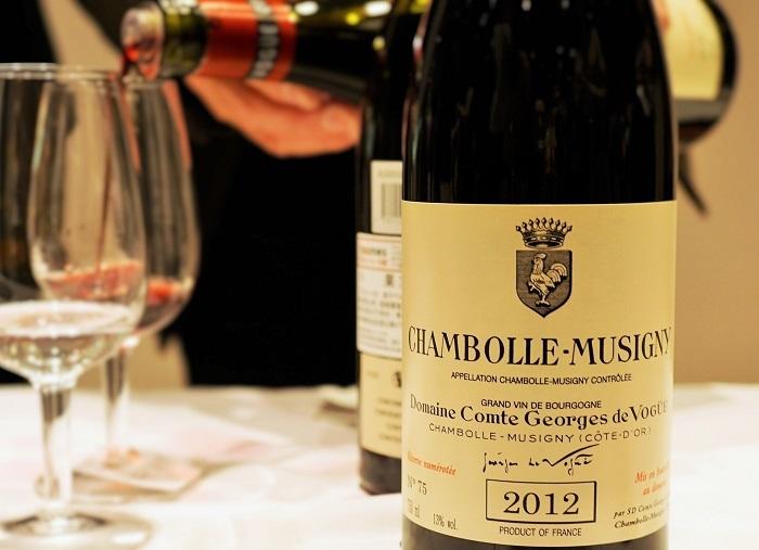 CHAMBOLLE-MUSIGNY_Domaine Comte George de Vogue ブルゴーニュを代表するグラン クリュ