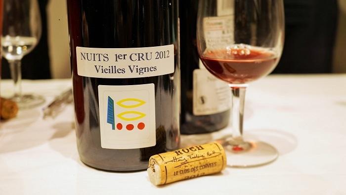 Biologique-NUITS 1er Cru Vieilles Vignes_Domaine Prieure Roch フランスのビオワイン