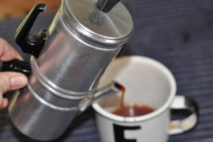 「ナポリ式コーヒーメーカー」で、お手軽でおいしいコーヒーライフを