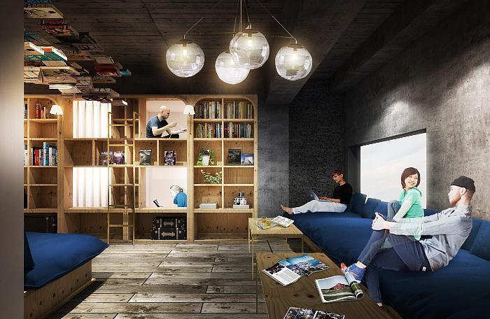 本を読みながら眠ろう。「泊まれる本屋」がコンセプトのホステルで