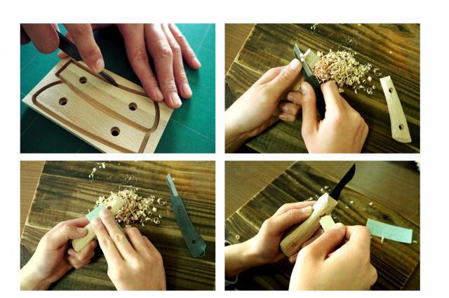 神沢鉄工のナイフ手作りDIYキットIt's my knife3