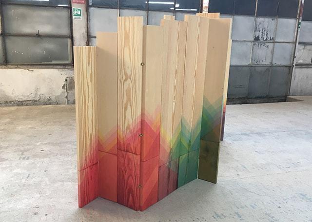ヘリンボーンの板3