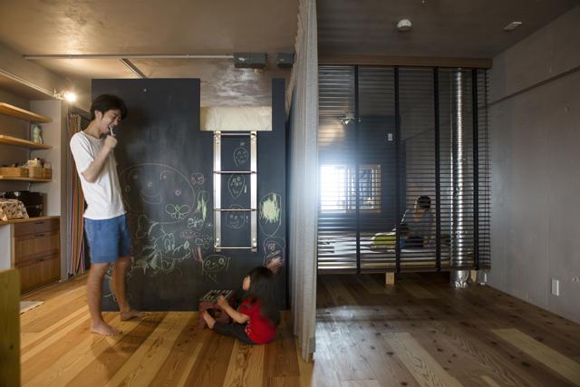 リノベーション4人家族ロフトのある家3