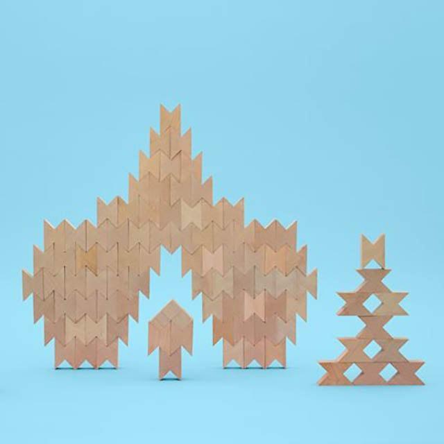 かわいい積み木