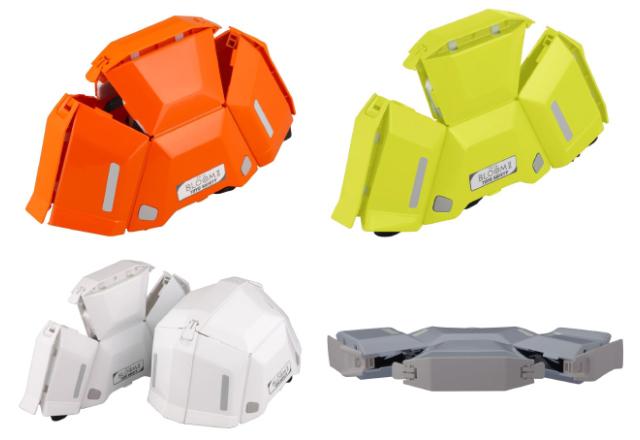 TOYO 防災用折りたたみヘルメット BLOOM