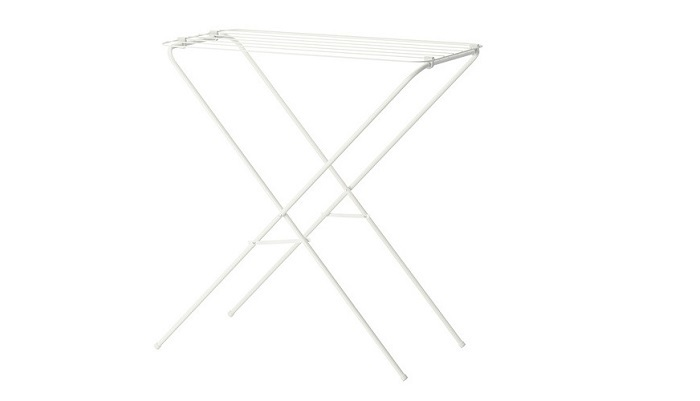 IKEAの物干しラック