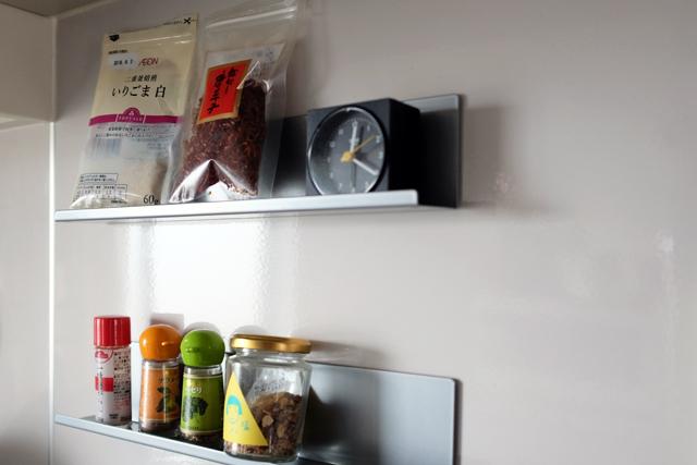 夫婦_デザイナー_レトロマンション_調味料棚DIY_おしゃれ_11