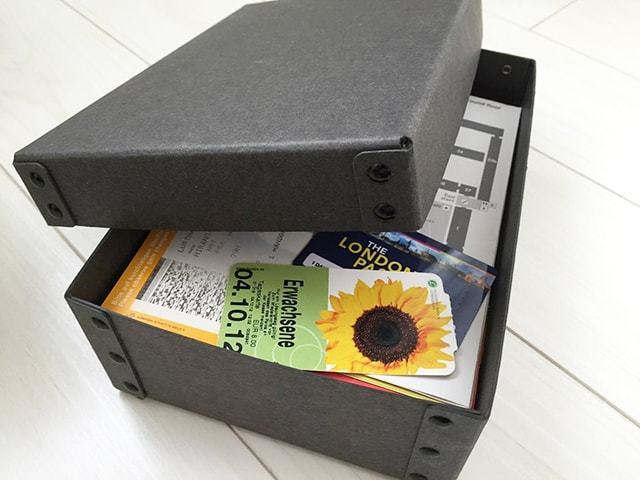 無印良品収納硬質パルプボックス4