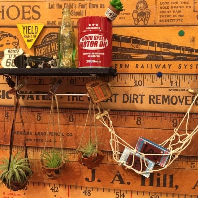 本革でかっこよくて簡単な植物を飾るエアプランツホルダーをDIYする_8