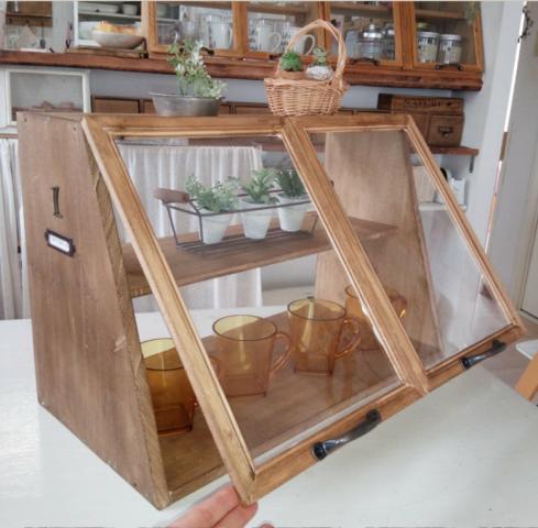 食器を収納するカフェ風のラックをDIY_8