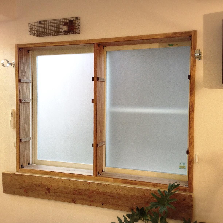 木製窓枠_DIY_1