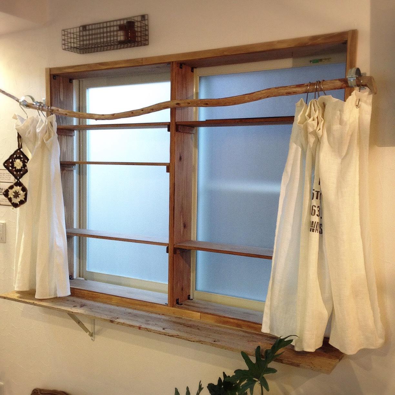 木製窓枠_DIY_5