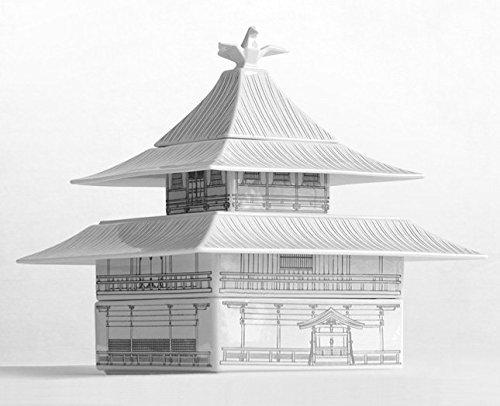 荘厳な雰囲気の金閣寺をモチーフにした食器、古都うつわ KINKAKU_1