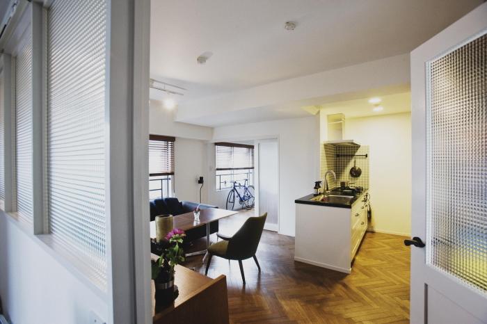 東京都中央区のマンションを家族3人が暮らすニューヨークのホテルのようにおしゃれにリノベーション_5