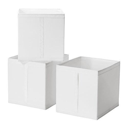 マイ定番スタイル_IKEAのSKUBBボックス_レコード収納_1