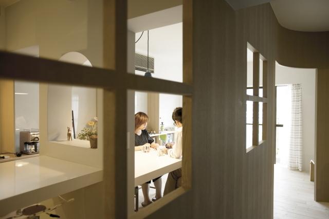 東京都多摩市のマンションを自然を感じられるナチュラルで素敵にリノベーション_2