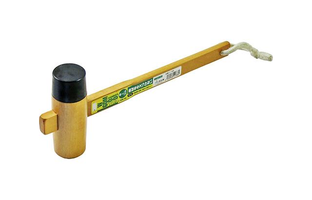 DIYビギナーが買うべき便利な工具であるゴムハンマー