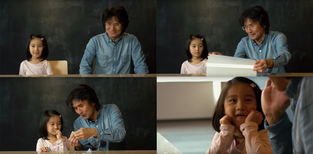 富士通デザインによる奥さんや家族会議を円滑にするお菓子CREATIVE SNACKによるほのぼの動画_9