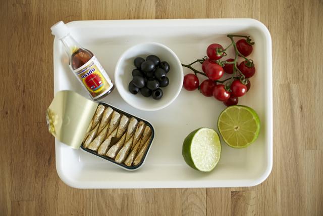 foodieで紹介のお酒のおつまみになるオイルサーディン×ナンプラーのエスニックなポテトサラダのレシピ_2