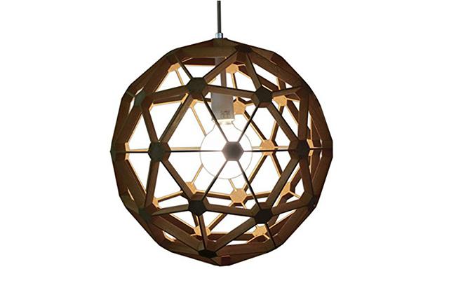 多面体が魅力的な部屋を神秘的な雰囲気にするライトフレイムス 木絆_1