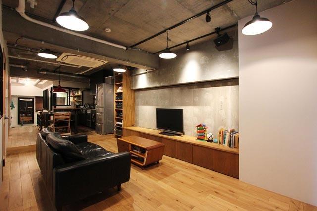 nu(エヌ・ユー)リノベーションによるニューヨークのようにかっこいいビンテージマンションのリノベ_4