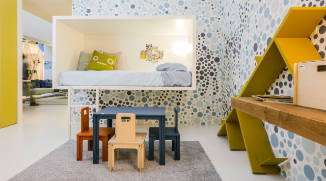 イノベーティブなイタリアン家具ブランドLAGOのッズも自分の楽しい空間を持てるベッド_3