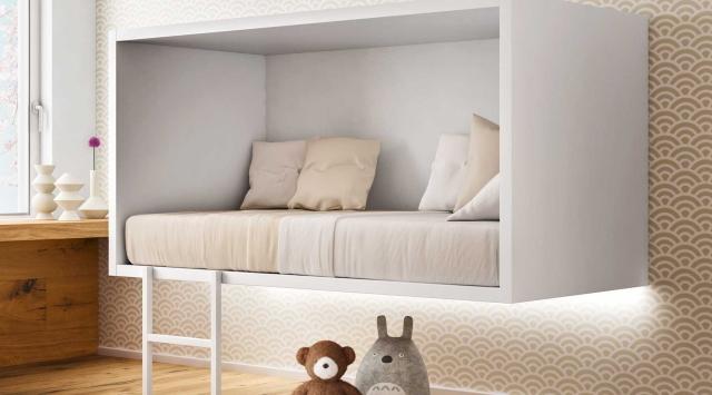 イノベーティブなイタリアン家具ブランドLAGOのッズも自分の楽しい空間を持てるベッド_2