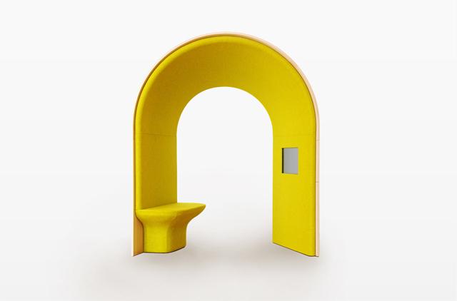 ジャン・クヴルールさんデザインのオープンだけどパーソナルな仕事場にもなる家の中に置くマイルーム_1